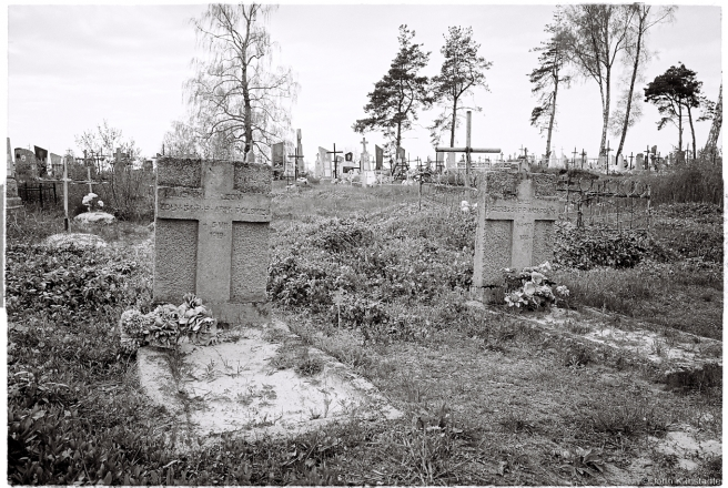 1f.Crosses of Belarus LX, Graves of Polish Soldiers Fallen in the 1919-20 War with the Bolsheviks, Lahishyn 2016, 2016129a-15A (000047