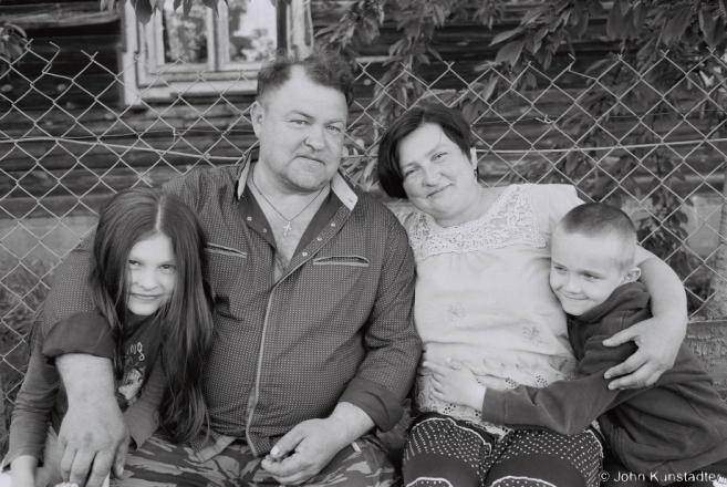 2.Portraits of Polesia, Iryna Ljashkjevich & Ryhor Suprunchyk with Daughter Tanja and Grandson Andrejko, Machul' 2016, 2016163a- (F1040005