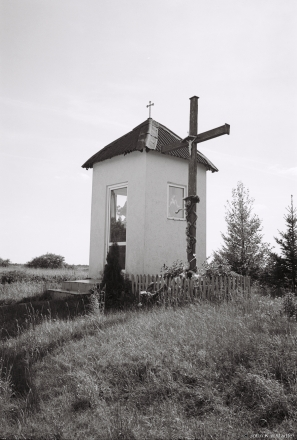 20c.Roadside Shrine at Northern Edge of Sjaljets (Smarhon' District) 2017, 2017135a-6A (000042