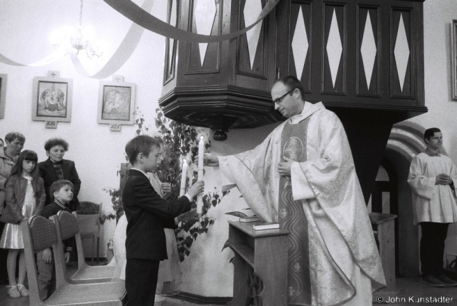2a.First Communion, Church of the Holy Trinity, Ishkal'dz' 2015, F1000010(2015181-