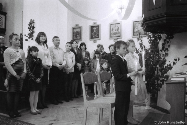 2c.First Communion, Church of the Holy Trinity, Ishkal'dz' 2015, F1000012(2015181-