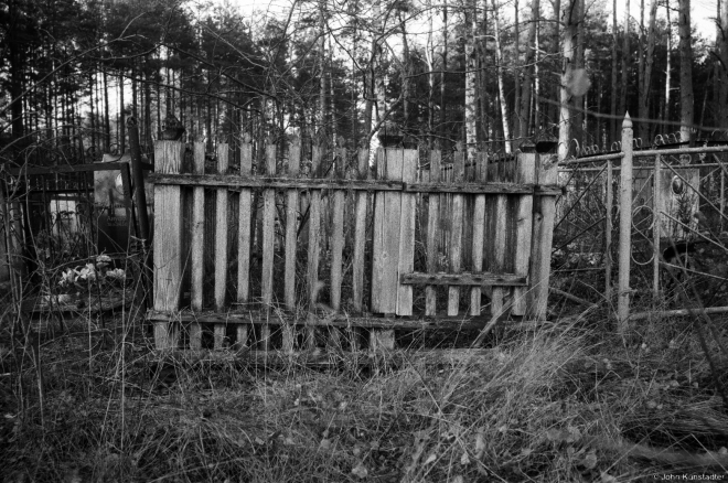 Wooden Grave Enclosure, Babtsy Cemetery 2014, 3.2014400-22A