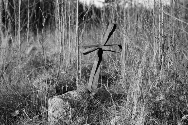 Wrought-Iron Cross, Babtsy Cemetery 2014, 2014399-29A(2)