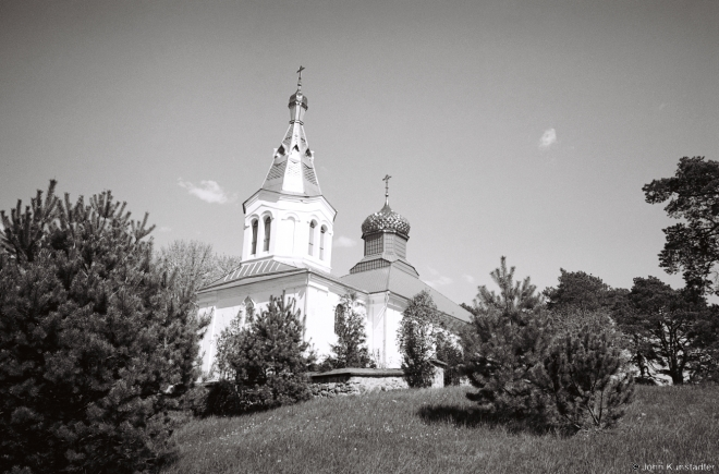 4b.Churches of Belarus CLVIII, Orthodox Church of the Intercession (Pakrou) with Alien Onion Domes, Bushiki 2016, 2016146-25A(2) (000057