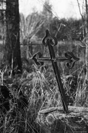 Wrought-Iron Cross, Babtsy Cemetery 2014, 2014399-36A