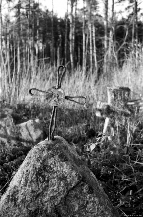 Wrought-Iron Cross, Babtsy Cemetery 2014, 2014400-6A