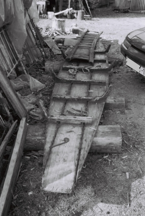Marsh Boat Under Construction, Machul' 2014, F1110014(2014375a-